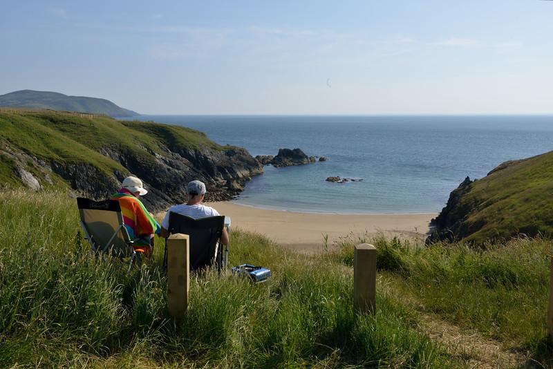 Coastal tranquilit,Pembrokshire.Visit Wales