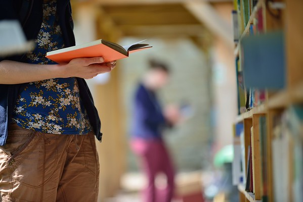 Honesty Bookshop,Hay on Wye. Visit Wales