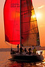 Red Sails at Night, Falmouth, Maine