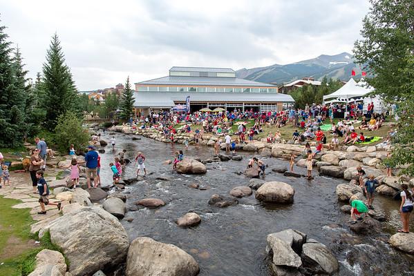 Fourth of July Picnic, Breckenridge, Colorado