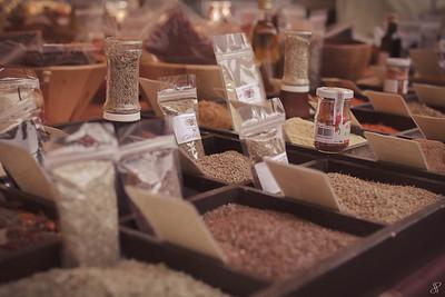Le stand d'épices