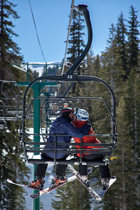 Skiing at Kirkwood, California