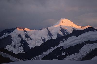 Aletschhorn from Mönchsjochhütte, Switzerland