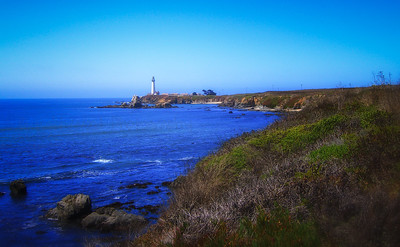 Pigeon Point Lighthouse from the south