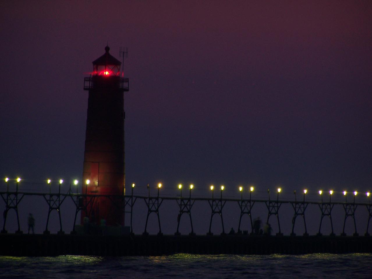 Night Lights 2 - Grand Haven, MI