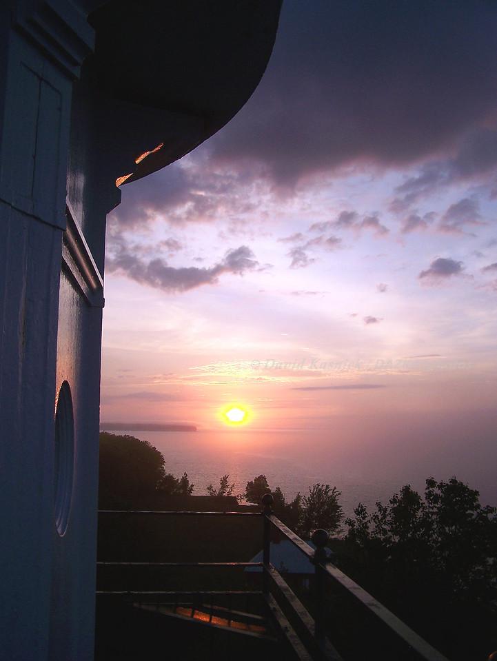 Big Bay Lighthouse B&B Sunset - Big Bay, MI-UP