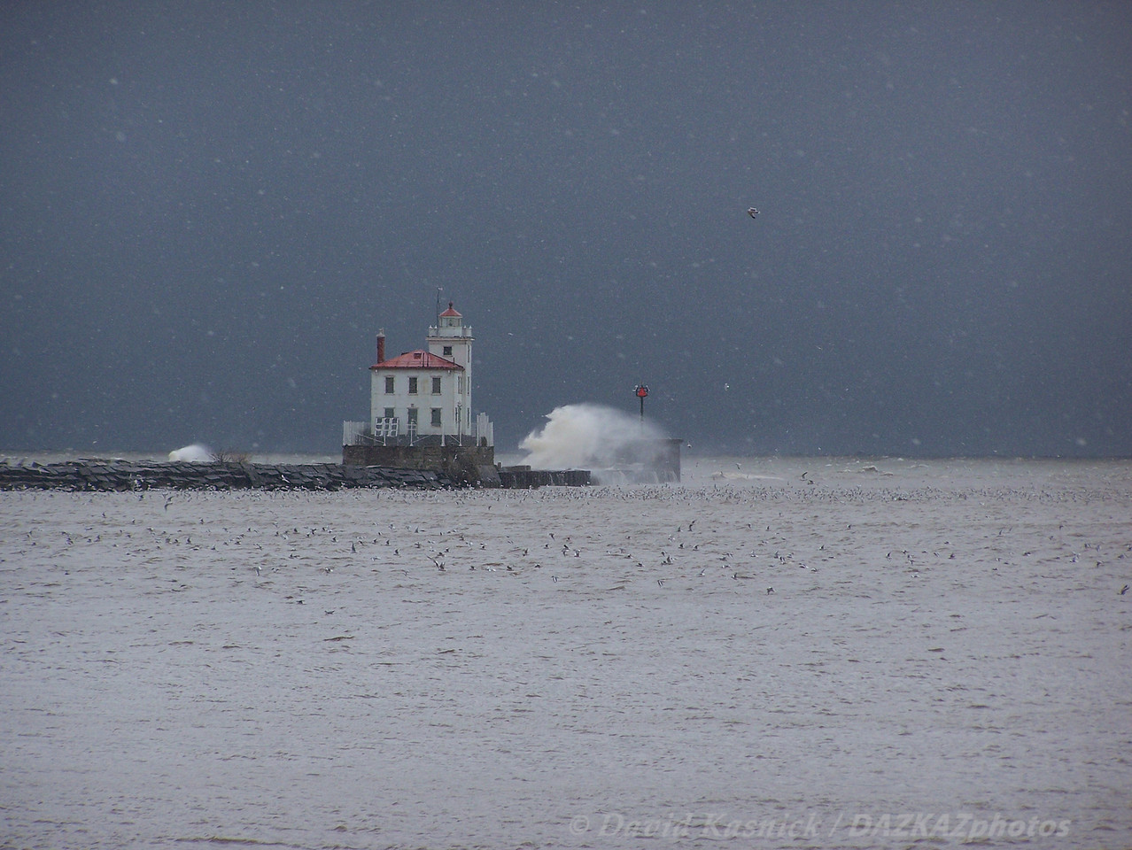Fairport Harbor Breakwater Lighthouse - Fairport Harbor, OH