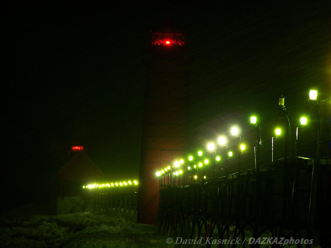 Night Lights - Grand Haven, MI