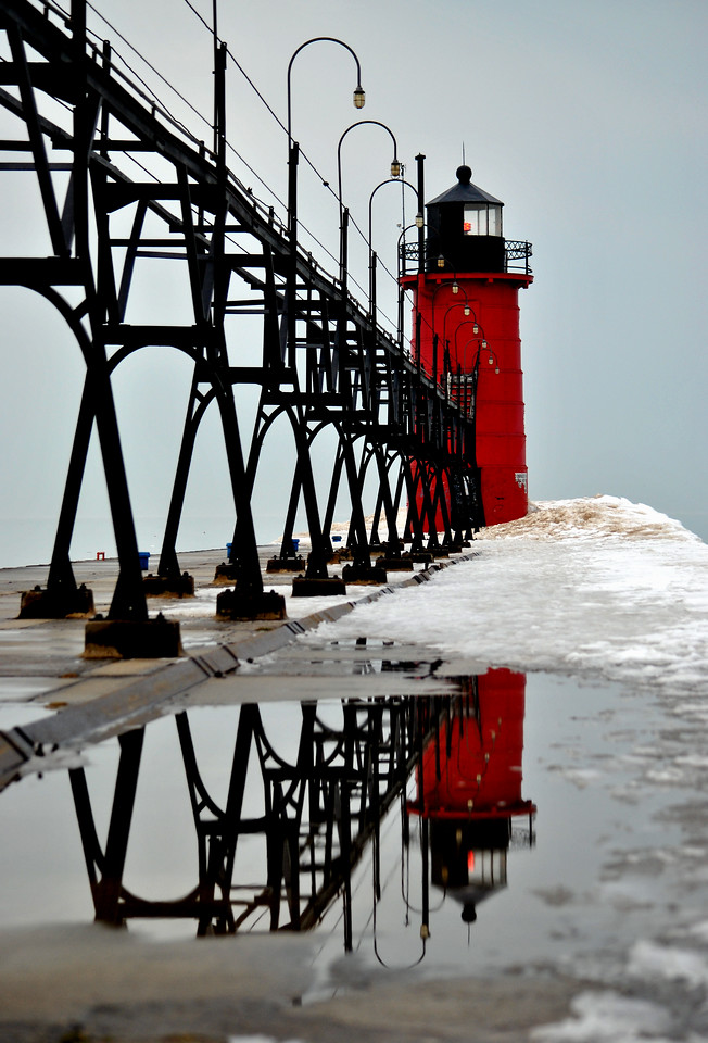 South Haven reflection - South Haven, MI