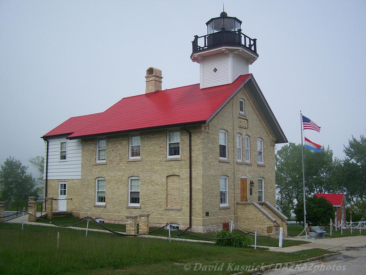 Old Port Washington Lighthouse - Port Washington, WI