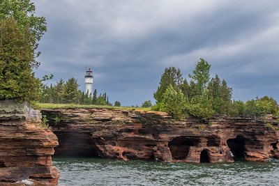 Devil's Islands Light - WI
