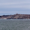 Chebucto Head Lighthouse, originally established in 1872, on the Chebucto Head Peninsula  in Halifax harbour, Halifax, Nova Scotia, Canada. This is the fourth lighthouse built at this location.