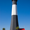 """Tybee Island Lighthouse on Tybee Island in Geogia, is called the """"pride of Georgia"""" - it was built in 1867 and has a first-order fresnel lens and continues to operate."""
