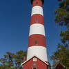 Constructed in 1833, the Assateague Lighthouse is located on the Virginia portion of Assateague Island. The Coast Guard has maintained the lighthouse for many years. Ownership of the lighthouse was transferred to the Fish & Wildlife Service from the Coast Guard in 2004. While the U.S. Coast guard still maintains the light as an active navigational aid, the Chincoteague National Wildlife Refuge is responsible for preserving the lighthouse.