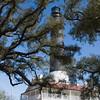Pensacola Lighthouse on Naval Air Station Base in Pensacola, Florida.