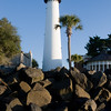 The original St. Simons Island Lighthouse was built in 1810, and was replaced with a new lighthouse in 1872 (after the first was destroyed in the civil war). In 2004, the lighthouse was deeded to the Coastal Georgia Historical Society under the Lighthouse Preservation Act after a long a successful lease arrangement with the U.S. Coast Guard and the Society. Today, with the assistance of the U.S. Coast Guard Auxiliary, the light continues as an Aid to Navigation, shining seaward every night and during inclement weather.