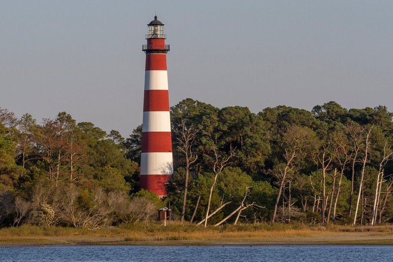 The Assateague Lighthouse is located on the Virginia portion of Assateague Island. The Coast Guard has maintained the lighthouse for many years. Ownership of the lighthouse was transferred to the Fish & Wildlife Service from the Coast Guard in 2004. While the U.S. Coast guard still maintains the light as an active navigational aid, the Chincoteague National Wildlife Refuge is responsible for preserving the lighthouse.