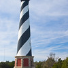 "The Cape Hatteras Lighthouse, known as ""America's Lighthouse,"" is the tallest brick beacon in the U.S., standing 208-feet high. The substantial structure, built in 1870, is black and white spiral-striped and the international symbol of the North Carolina coast. The lighthouse, one of our most recognized and beloved landmarks, is open for climbing from mid-April through Columbus Day."