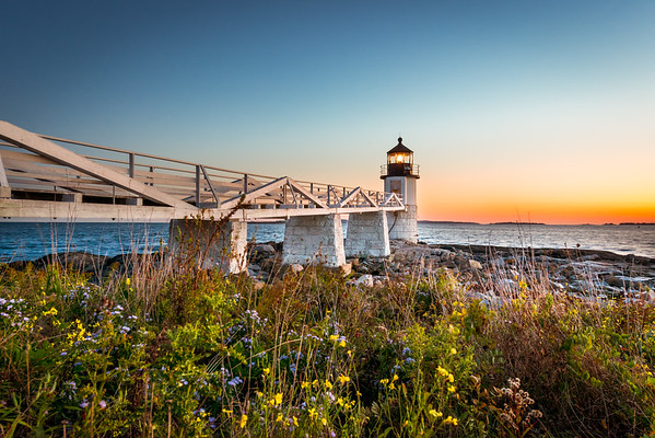 Marshall Point Lighthouse - Blue Hour