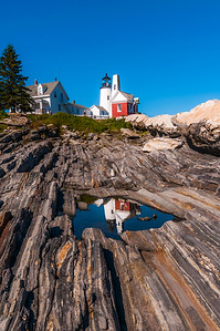 Pemaquid Light House Reflection