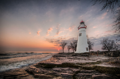 Sunrise at Marblehead Lighthouse