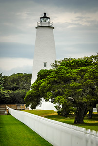 Ocracoke Light Head