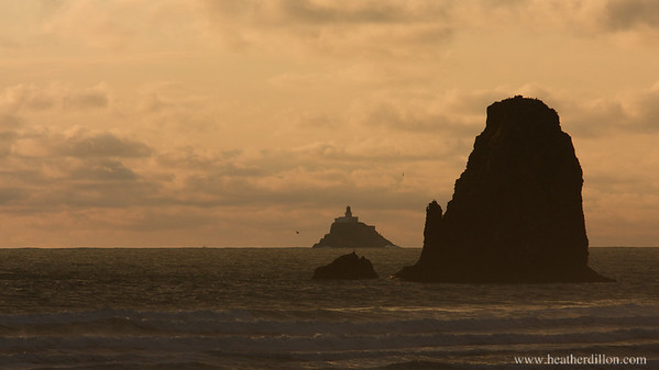 Tillamook Rock Lighthouse, Cannon Beach, OR