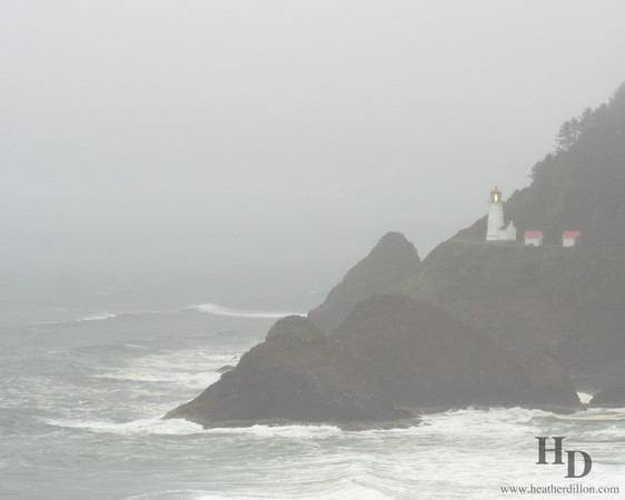 Heceta Head Lighthouse, Oregon.