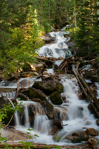 The Falls in  Big Cottonwood Canyon