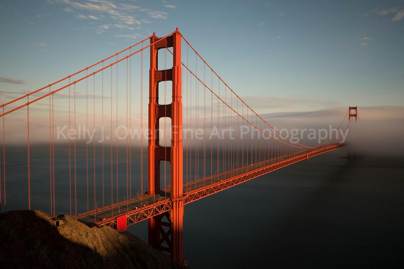 Golden Gate Bridge, San Francisco, California (2013 Kelly J. Owen)