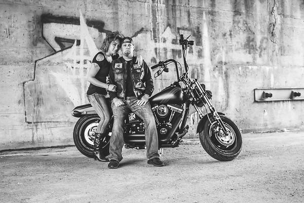 Lisa & Dustin {Bike}