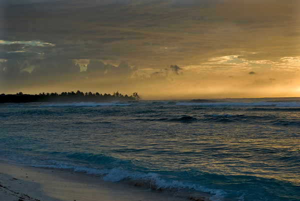 Sunrise at Pirate's Point, Little Cayman
