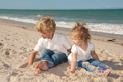 Beach play.  These two couldn't be bothered by the photographer! And that works for me.