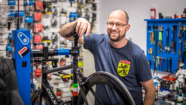 A great bicycle mechanic
