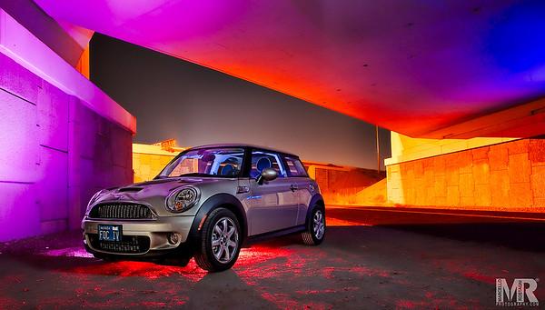 Creative colorful Automotive Photography