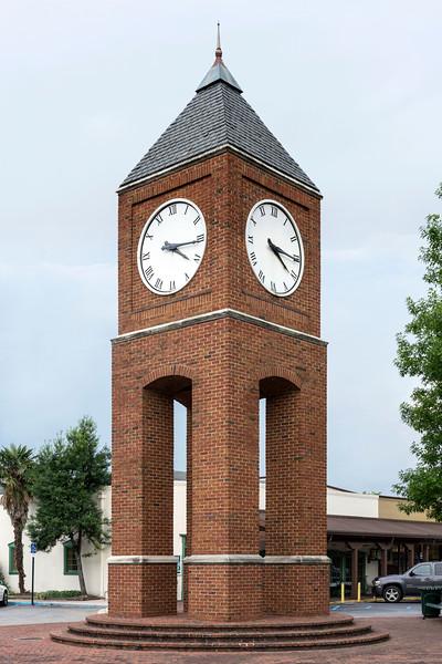 Clocktower at Crestline village, mountain brook, aL!