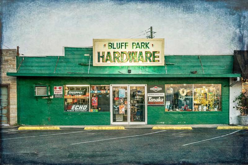 Bluff park hardware