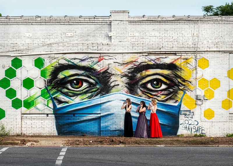 39th street Mural redo during pandemic