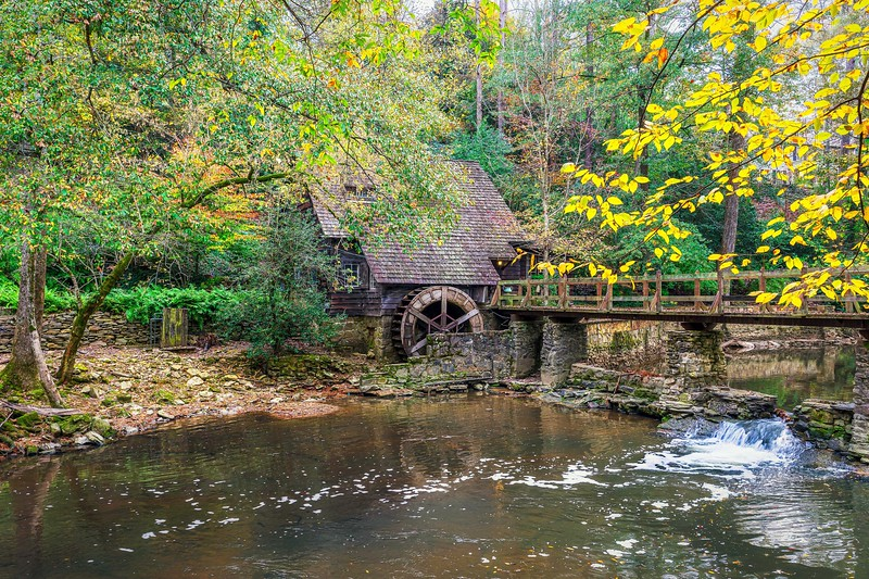 Mill at mountain brook