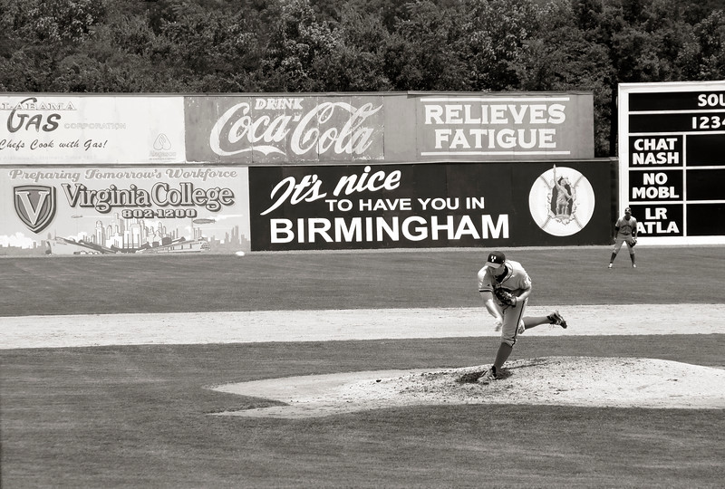 Pitcher, Rickwood Field!