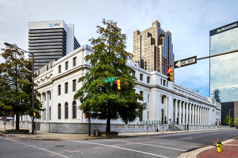 Federal Courthouse and other businesses