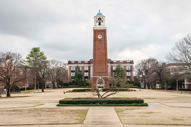 Campus and clock tower