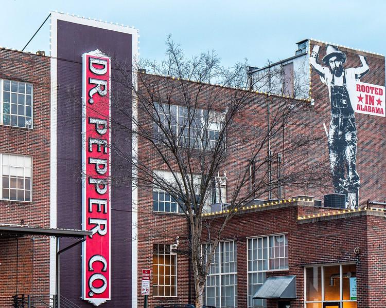 Old Dr. pepper bottling warehouse