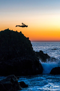 Cliff Diving, Laguna Beach