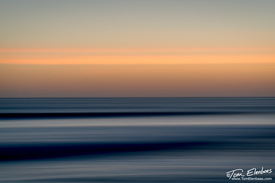 Manhattan Beach Sunset Abstract