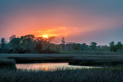 Salt Marsh Sunset II