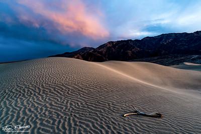 Mesquite Flat Sand Dunes Sunset IV