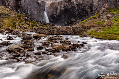 East Fjords Waterfall