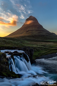 Last Light on Kirkjufell