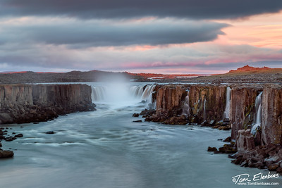 Last Light at Selfoss